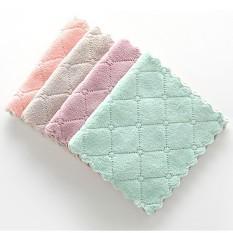 Bộ 5 khăn lau đa năng hai mặt , thấm hút cực tốt (KT: 16cm*25cm)