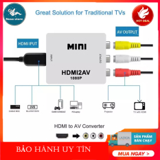 đầu chuyển hdmi, Phụ kiện máy tính, Thiết bị chuyển nguồn, Chuyển đổi HDMI sang 2 AV , Hàng cực chất-giá hấp dẫn-sale ngất ngây!!!