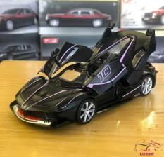 Mô hình ô tô siêu xe Ferrari FXX-K tỉ lệ 1:32 màu đen