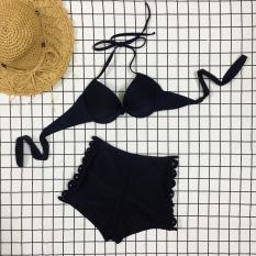 bikini áo ngực xoắn quần đùi