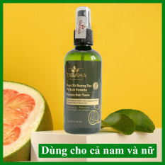 Nước xịt dưỡng tóc tinh dầu bưởi kích mọc tóc Pomelo Tabaha 120ml giúp giảm rụng tóc, kích thích tóc mọc nhanh