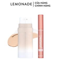 Combo Lemonade Kem nền Perfect Couple Dual Foundation 30g và Chuốt mi SuperNatural Mascara 7.5g