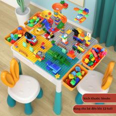 Bộ bàn xếp lego đa năng