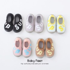 336# Giày bún in chữ đáng yêu cho bé, nhiều màu, cực hot cho bé trai và bé gái