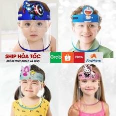Kính Che Chống Dịch Trẻ Em Hình Thú, kính chóng bụi đi đường thời trang trẻ em