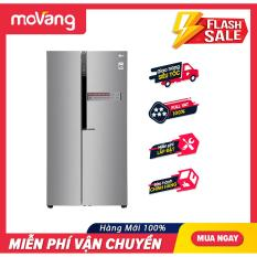 [TRẢ GÓP 0%] Tủ lạnh LG GR-B247JDS – Công nghệ Inverter, dung tích lớn 613 lít, dòng tủ lạnh side by side, sang trọng, hiện đại – Bảo hành 12 tháng