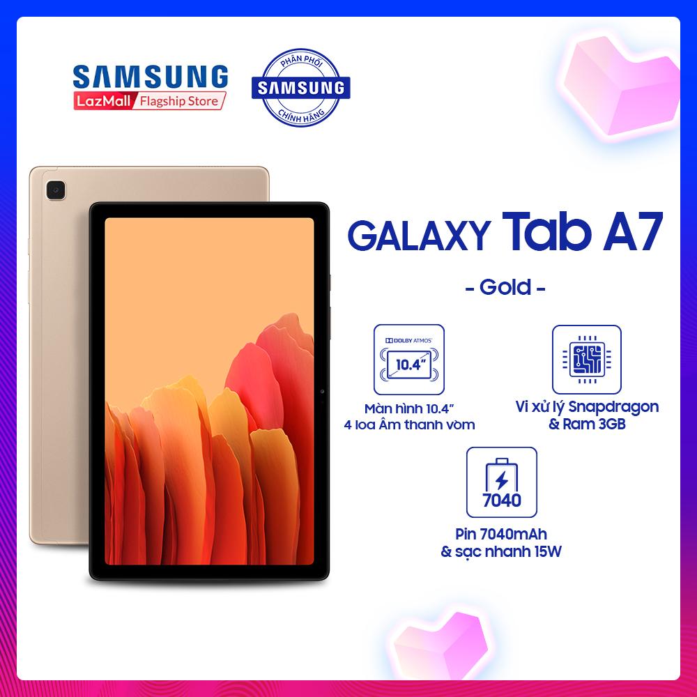 Máy tính bảng Samsung Galaxy Tab A7, tặng bao da
