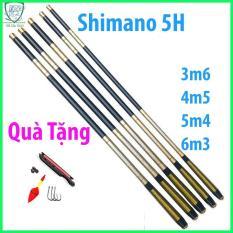 Cần câu tay Shimano 5H đủ size 3m6 4m5 5m4 6m3 [Tặng Phụ kiện trị giá 50k].. cần câu tay, cần câu tay shimano, cần câu tay giá rẻ, cần câu đơn – Duli