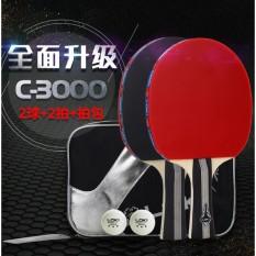 Vợt Bóng Bàn LOKI C3000 2 vợt( tặng túi đựng + 2 bóng)