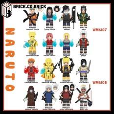 Lego Naruto Non Jiraiya Haku Orochimaru Zabuza Madara Đồ Chơi Lắp Ráp Mô Hình Anime Ninja Naruto WM6107 WM6108 MỚI NHẤT