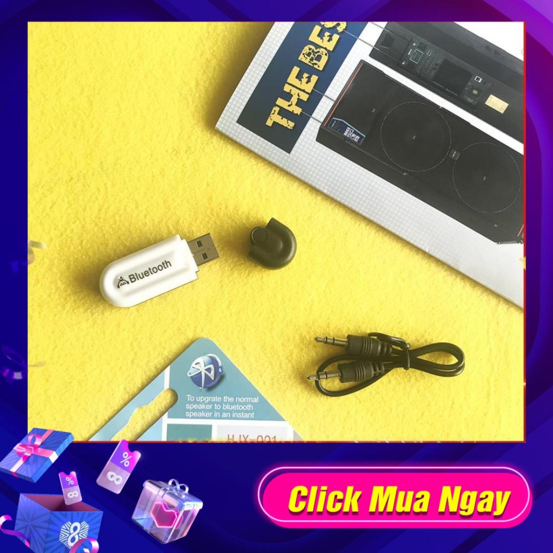 USB phát Bluetooth Music Dongle cho amply , loa , dàn âm thanh có dây thường thành không dây kết...