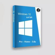 Cài Windows 10, Win 10 64bit Home/Pro/Edu, Hỗ trợ cài đặt từ xa + Tặng 1 đĩa dvd và sách hướng dẫn tự cài đặt