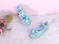 Giày búp bê elsa kim tuyến bé gái G59