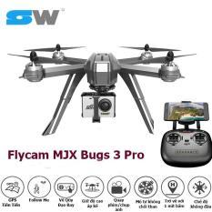 [SWTOYS] FLYCAM MJX Bugs 3 Pro GPS Cao Cấp,Có Sẵn Camera C6000 1080P Hiện Đại, Mô Tơ Không Chổi Than, Điều Khiển Từ Xa RC Drone