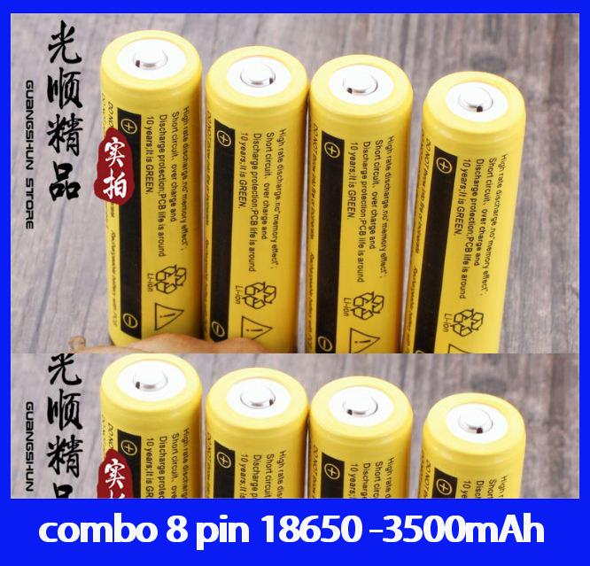 Đánh giá pin sạc 18650 dung lượng 3500mAh- combo 8 pin Tại tuệ hân shoop