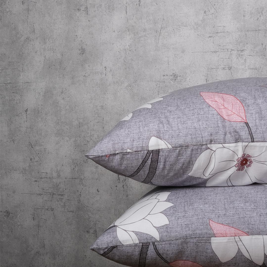 Vỏ Gối Áo Gối Bao Gối Nằm Cotton Lụa Hàn Quốc Họa Tiết 50x70 cm (cặp)