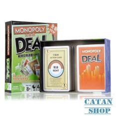Monopoly Deal – Card Game, Giáo giục trí tuệ, gắn kết gia đình và bạn bè BB31-Monopoly