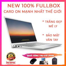 (NEW 100% FULLBOX) Dell Inspiron 5402, Trắng Đẹp Mê Ly, Bảo Mật Vân Tay, i5-1135G7, RAM 8G, SSD NVMe 256G, VGA Intel Iris Xe G7, Màn 14 Full HD IPS
