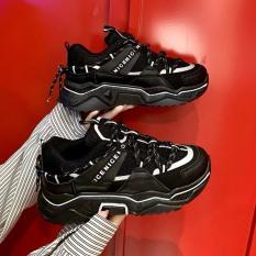 giày thể thao nữ CDE phản quang đế cao độn đế cực đẹp cá tính