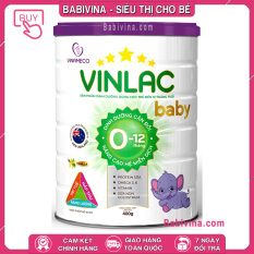 [CHÍNH HÃNG] Sữa Vinlac Baby 400g | Cho trẻ từ 0-12 tháng tuổi | Babivina