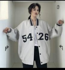 [FREESHIP TOÀN QUỐC] áo khoác dù nam nữ BOMBER nút bấm Thêu 5426