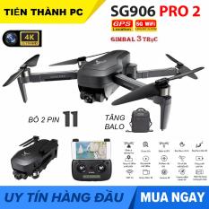 GỒM BALO – Máy bay Flycam ZLRC SG906 Pro 2 Camera 4k, gimbal chống rung 3 trục, GPS Camera Wifi 5G – BẢO HÀNH 3 THÁNG
