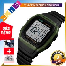 [BẢO HÀNH 1 NĂM] [TẶNG HỘP VÀ PIN] Đồng hồ nam dây da SKMEI 1278 TREND 2020 đồng hồ điện tử độc đáo
