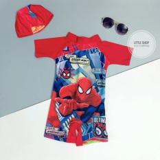 Bộ bơi bé trai người nhện siêu nhân kèm mũ bơi, cam kết sản phẩm đúng mô tả, chất lượng đảm bảo an toàn đến sức khỏe người sử dụng