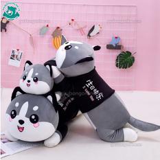 Gấu Bông Mèo bi màu xám dễ thương Gấu Ôm Kích Thước 50 c m ( ko kèm áo )