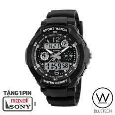 Đồng hồ Nữ SKMEI 1060 Thể Thao – Viền Trắng