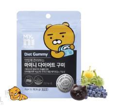Kẹo Gấu Giảm Cân MyNi Selfcare Diet Gummy Kakao Friends (3g x 12)