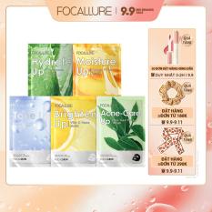 FOCALLURE 01 Mặt nạ tinh chất tự nhiên chăm sóc da giúp dưỡng ẩm và làm trắng có trọng lượng 25g – INTL