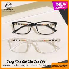 Kính cận không độ cao cấp BDBBR8080 – Gọng kính giả cận Hàn Quốc- Bảo hành 12 tháng 1 đổi 1 – Tặng kèm hộp + Khăn lau