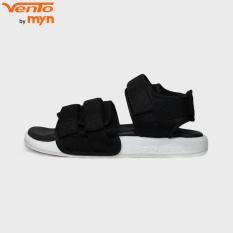 Giày Sandal Vento Nam Nữ – NV 1019 quai vải màu đen