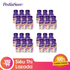[GIẢM 40K ĐƠN 1,2TR] Thùng 24 chai sữa nước Pediasure Vanilla 237ml Dành cho trẻ biếng ăn từ 1 đến 10 tuổi Bổ sung dinh dưỡng Tăng cường hệ miễn Dịch Hương vị thơm ngon