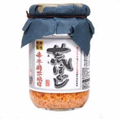 Ruốc trứng cá hồi Nissin Nhật Bản (nắp tím) 140g