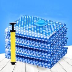 Combo 10 Túi hút chân không hình chấm bi xanh (kèm tay bơm ) Mã: KK155