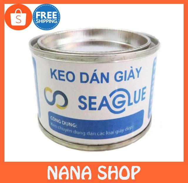 Keo dán giày Seaglue siêu dính lọ 100ml chịu lực cực tốt, bám dính chặc, chịu nước tốt - Nana...