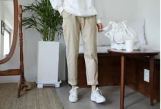 quần nam kiểu dáng baggy kaki kèm ảnh thật