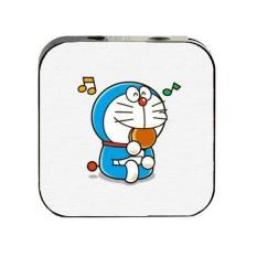 Máy nghe nhạc DORAEMON cầm tay mini tặng tai nghe cắm dây có mic và dây sạc mp3 anime chibi
