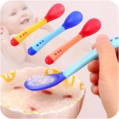 1 Muỗng / Thìa ăn dặm cảm ứng nhiệt an toàn miệng cho bé