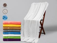 Combo 5 Khăn Tắm thương hiệu LuxStay kt 70*140cm*420gram, khăn tắm 100% cotton thấm hút tốt không phai màu, không xù lông