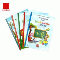 Tuyển tập 5 quyển Tô chữ cùng Sam dành cho bé chuẩn bị vào lớp 1