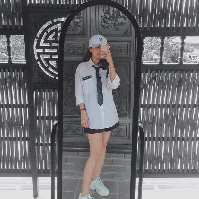 [Có Video] Sơ Mi In Back To School Kèm Cavat