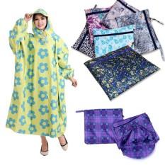 Áo mưa bít vải dù nhiều màu siêu bền bỉ,siêu tiện lợi,chất liệu dù chống thấm nước