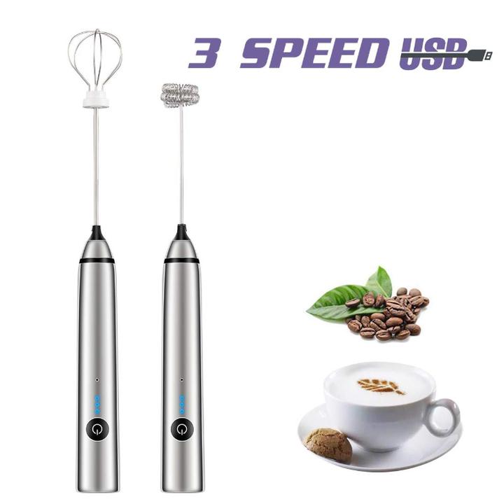 Máy tạo bọt cafe, sữa cầm tay MFB1501D (Tích hợp điều chỉnh 3 tốc độ, đầu trộn khác nhau)