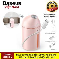 Máy phun sương, tinh dầu đa năng tạo độ ẩm chăm sóc da thương hiệu cao cấp Baseus C9 dung tích 320ml – Phân phối bởi Baseus Vietnam