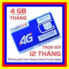 SIM 4G MOBIFONE TRỌN GÓI 1 NĂM KHÔNG NẠP TIỀN MDT250A( 4GB X 12 THÁNG) – SHOP SIM GIÁ RẺ – SIM 3G, 4G