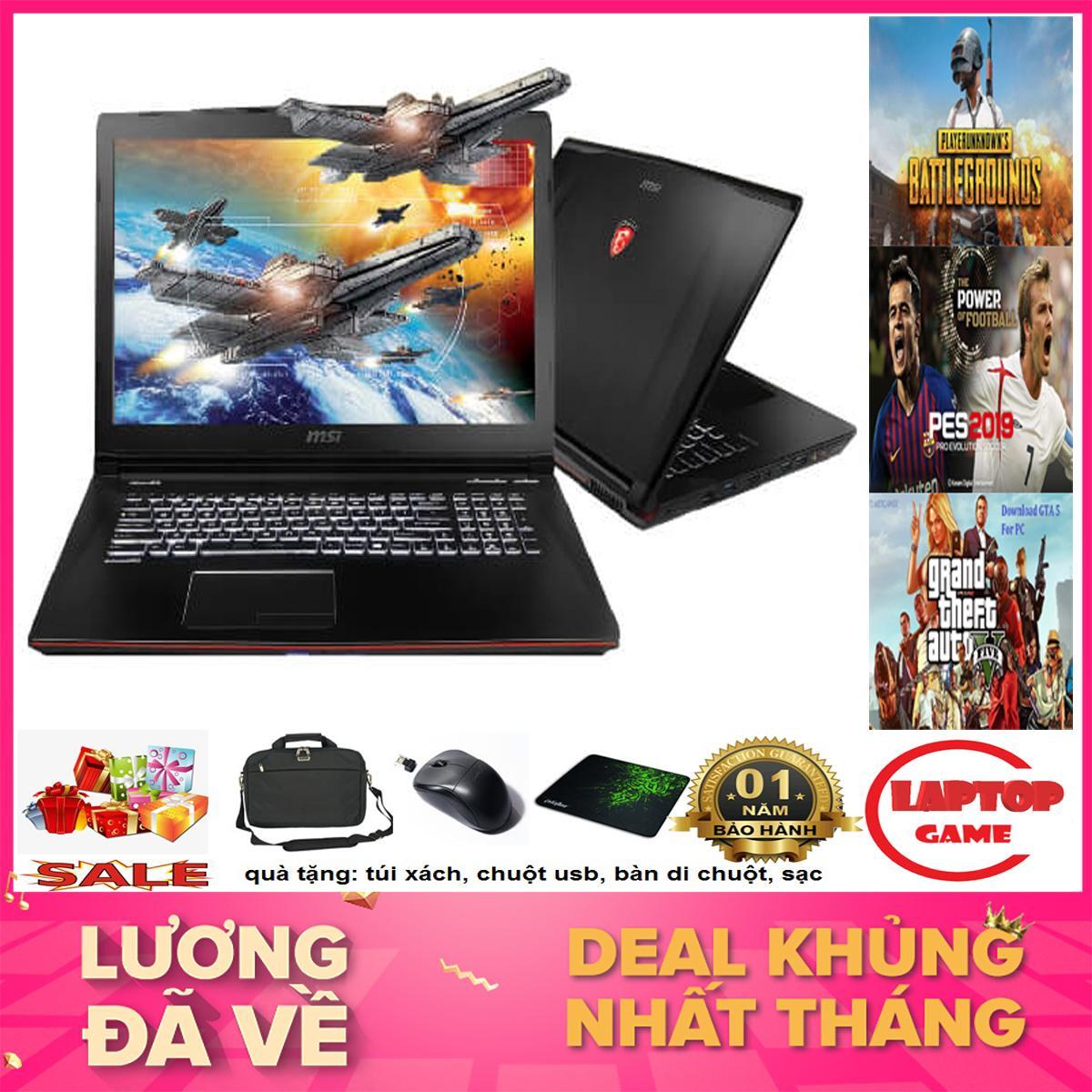 LAPTOP GAME MSI GE62 2QC (Core i5-4210H, RAM 8GB, HDD 500G,VGA GTX 960M, 15.6 inch Full HD 1920*1080 )