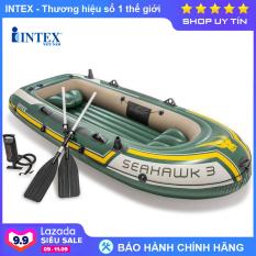 Bộ thuyền bơm hơi Seahawk 3 người INTEX 68380 – Thuyền bơm hơi, Thuyền phao